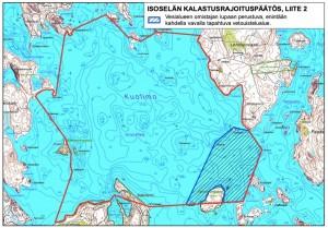 Kalastusrajoitusalue-kartta