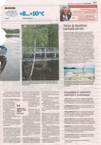 Järvien tilanteesta E-S 21092019
