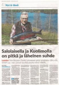 Pertti Salolainen Savitaipaleella 20052021